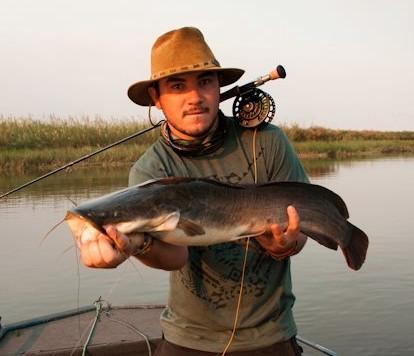 Kyle reed- pro boatman, white shark dodger and fellow Garden Route explorer