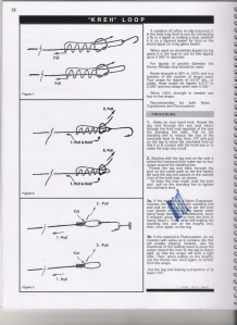 Steps for the Lefty Loop as sent to me by the late Paul Weingartz