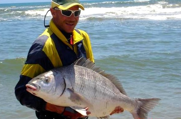 Spyker Kruger with a Henties Bay Steenie