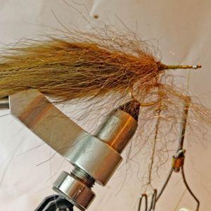 spinning dubbing brush