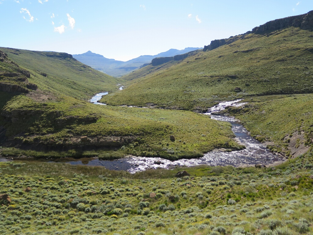 Lesotho hiking fishing and exploring