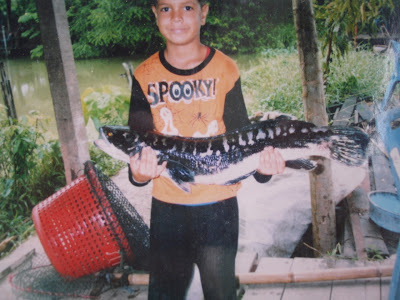 tims son with a decent snakehead