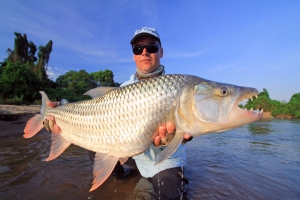Pic 33 - A personal best taken from the Ruhudji River