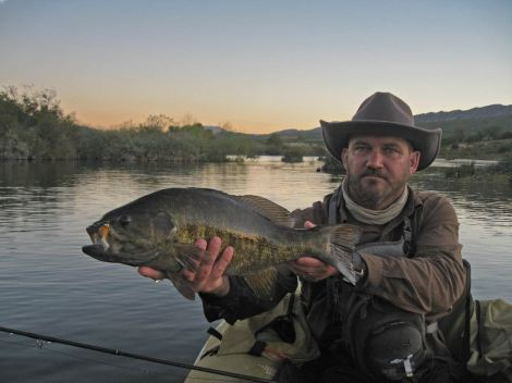 53cm fattie taken at dusk from the riffle above the palmiet