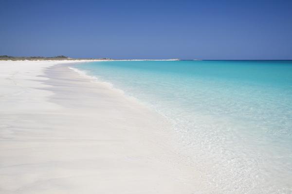 Ed's Blue Lagoon - one of the beaches where we caught bonefish