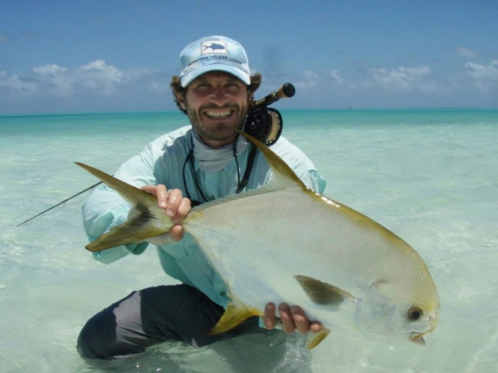 Chris Bladen with a slab Alphonse Permit!